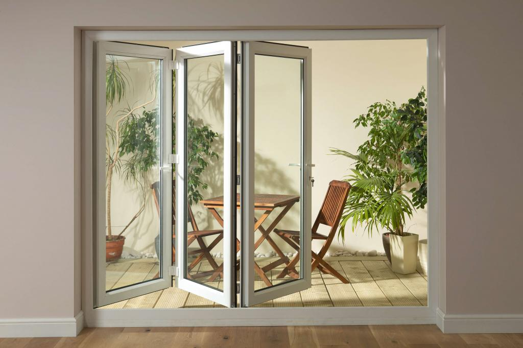Plastic sliding interior doors