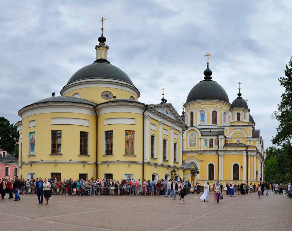 Pokrovsky Monastery in Moscow