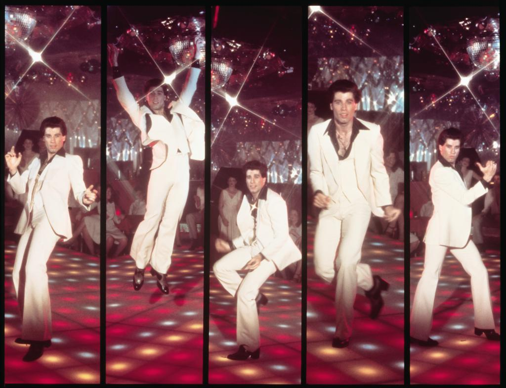 The disco era fashion 45
