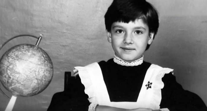 Olga Krasko in childhood