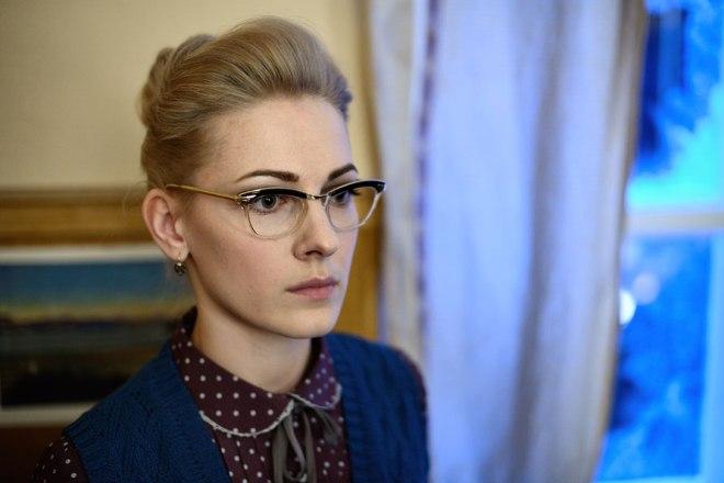 "Olga Krasko in the series ""Territory"""