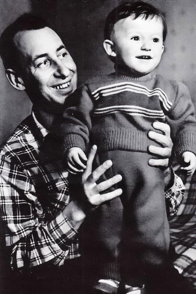 Басов с первым сыном