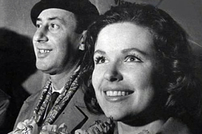 Со второй женой Натальей Фатеевой