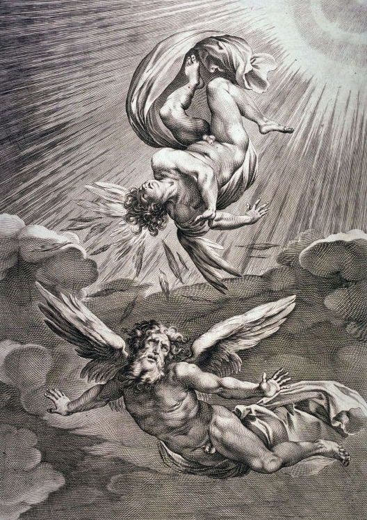 The most ancient myth about Daedalus and Icarus
