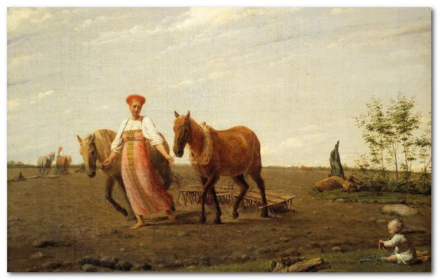 Russian peasant woman