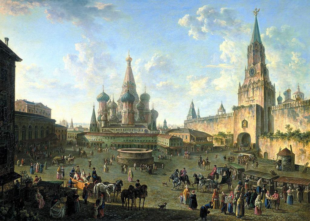 история москвы с иллюстрациями