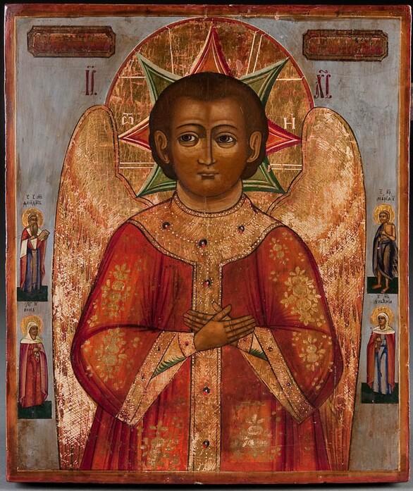 Description of the icon of Jesus Christ