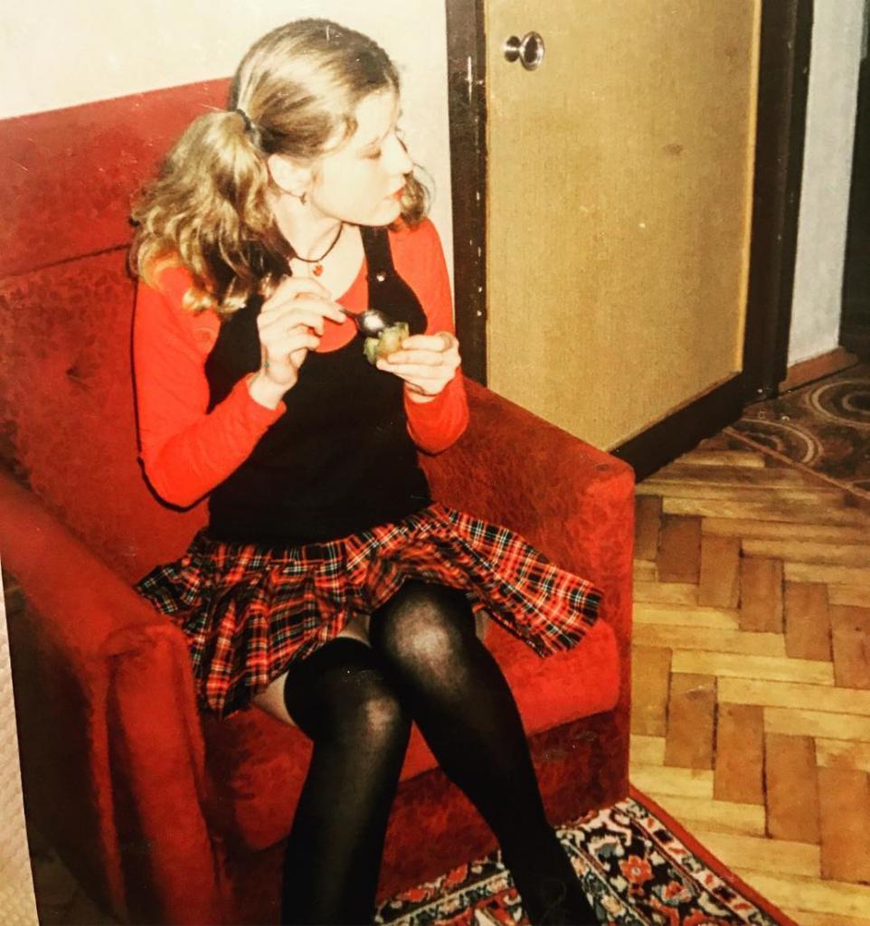 Tatiana Arno in childhood