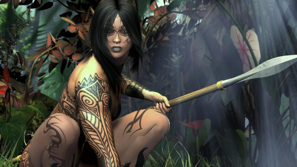 Жизнь охота и секс в диких племенах древних амазонок