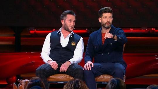 Ivan Pyshnenko and Dmitry Kozhoma in the Comedy Club