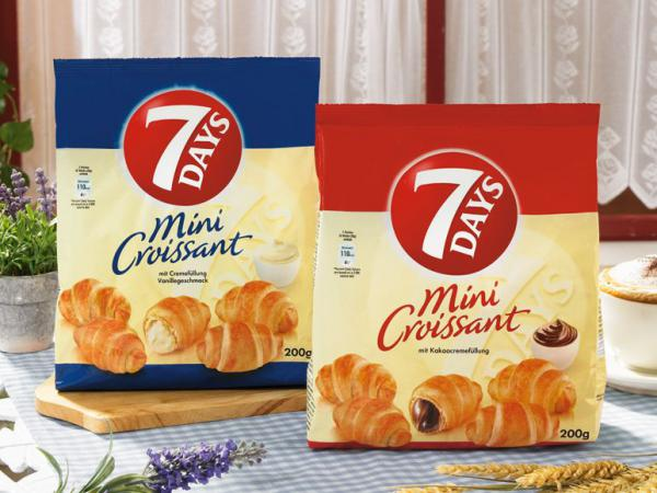 Two packs of croissants