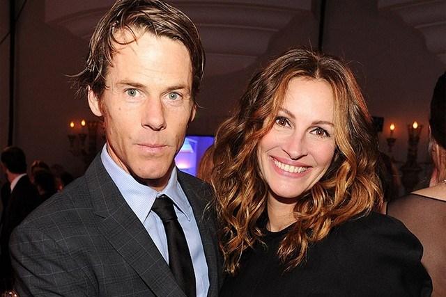 Julia Roberts with her husband, Daniel Moder