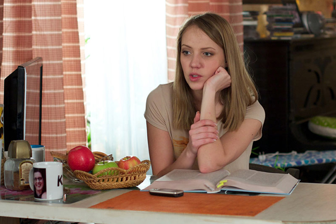 "Galina Bob in the TV series ""Deffchonki"""