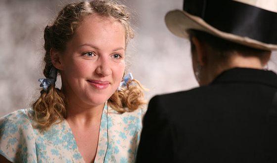 "Galina Bob in the TV series ""Zoya"""