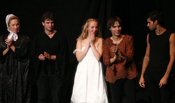 """In the play """"Romeo and Juliet"""" Galina Bob played the role of Juliet"""