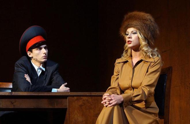 Александра Ребенок в театре
