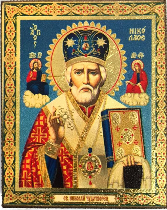 Картинки иконы николая чудотворства