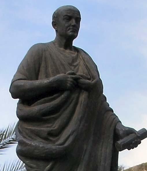 statue of Seneca