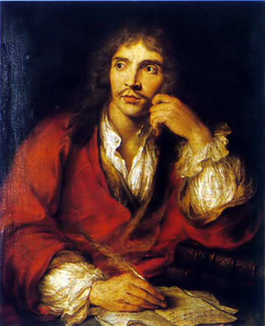 founder of the comedy Molière