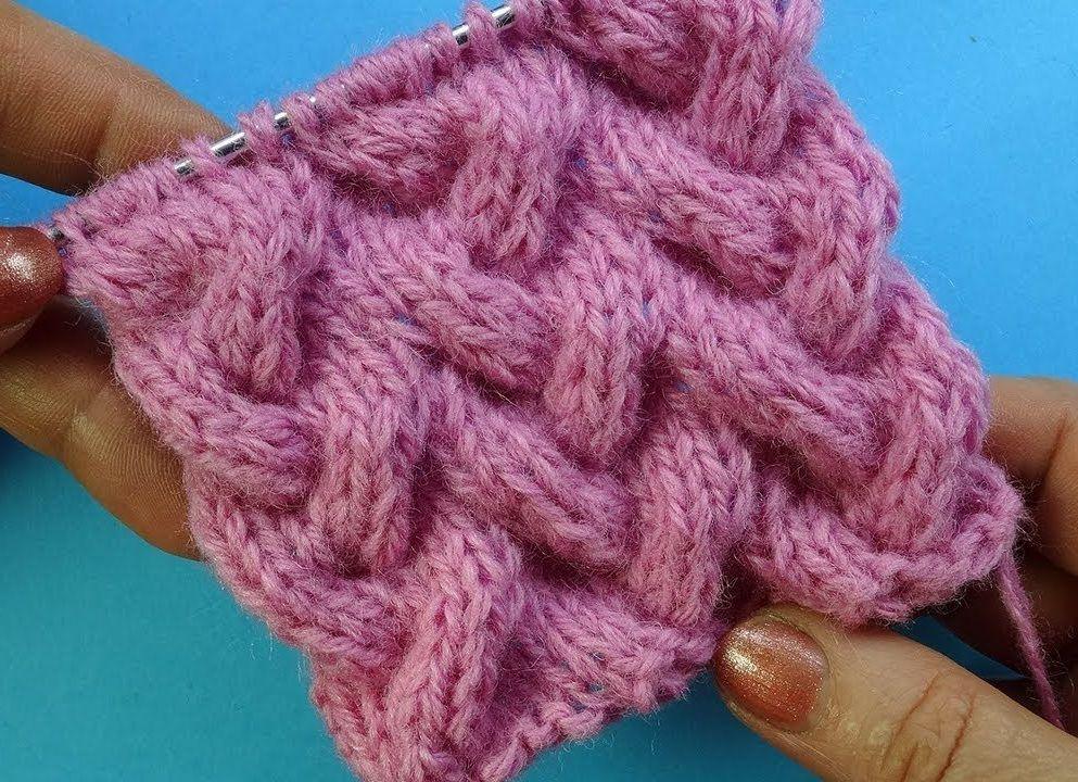 Узоры для вязания берета