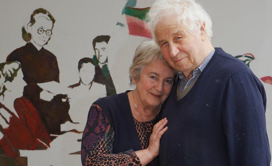 Илья с супругой