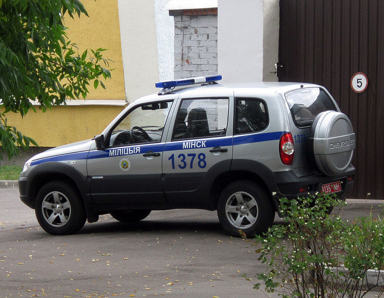 Transport of the Belarusian police
