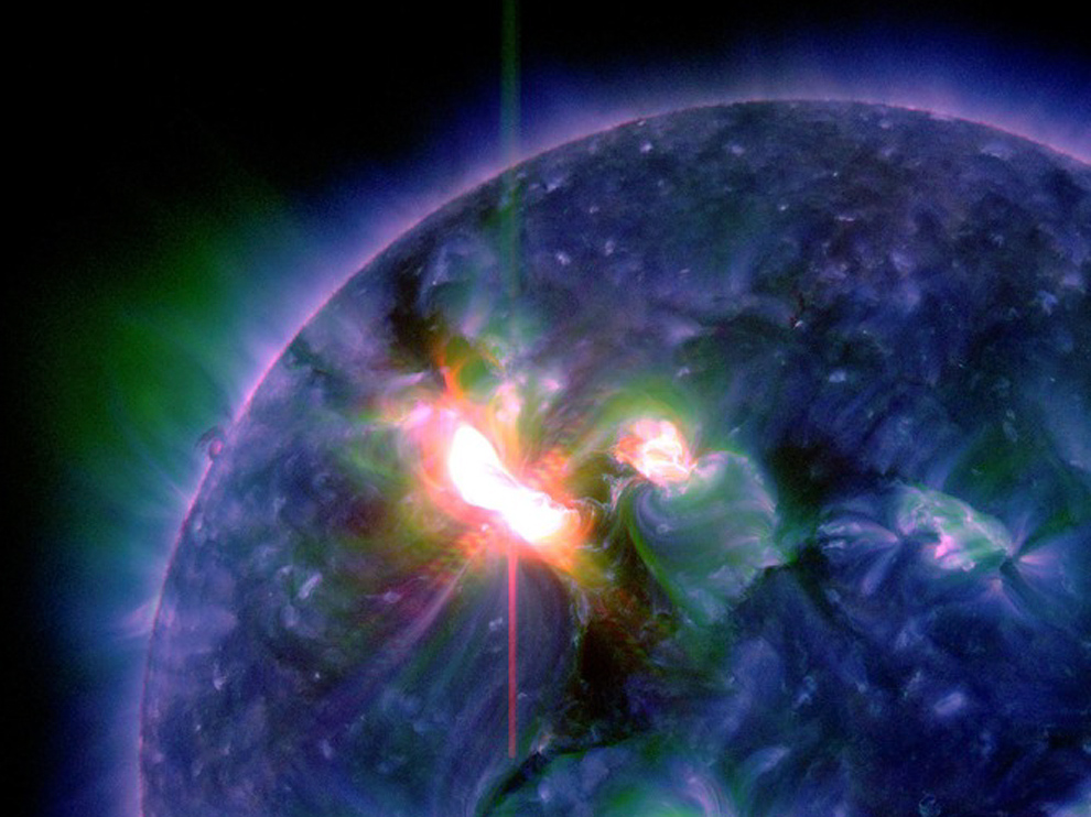 Нестабильная геомагнитная обстановка - опасность для здоровья из космоса