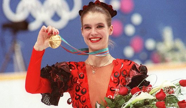 Calgary Witt Wins Olympic Gold