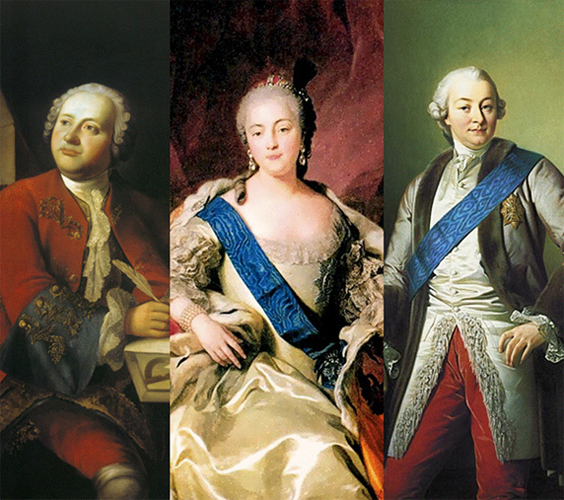 Elizabeth Petrovna Empress Board