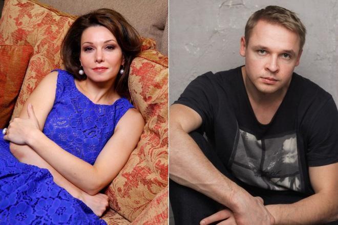 Александра Урсуляк и Александр Голубев