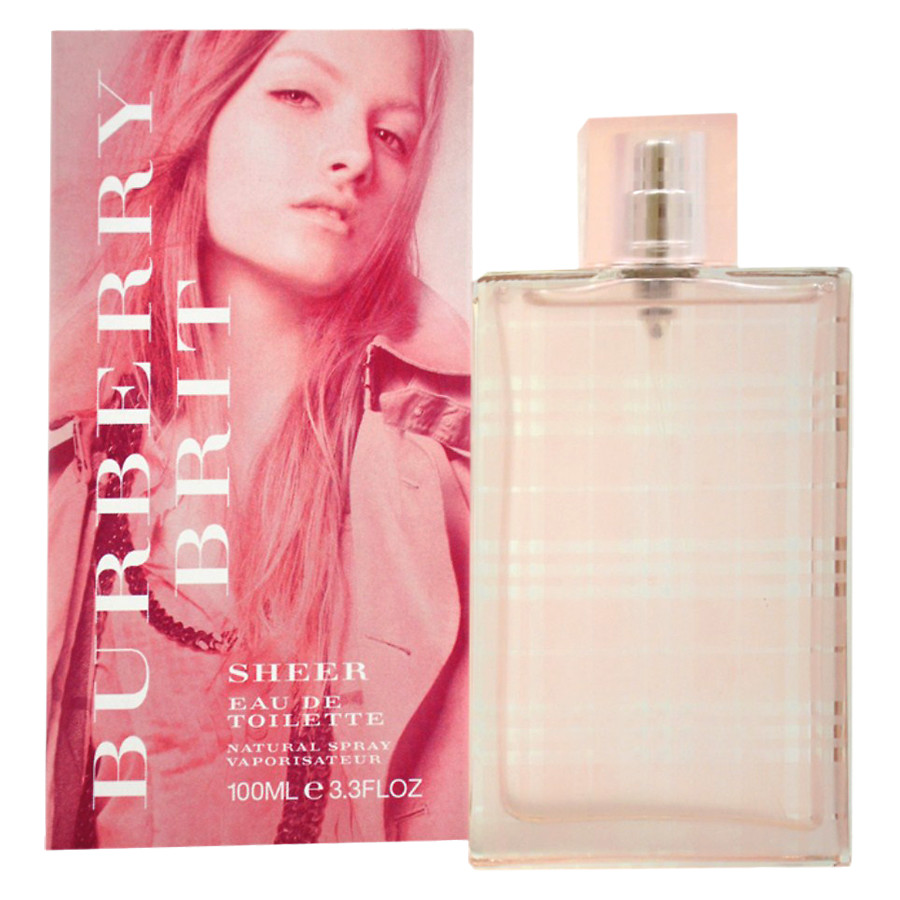 реклама Burberry Brit Sheer