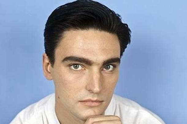 Andrei Derzhavin in his youth