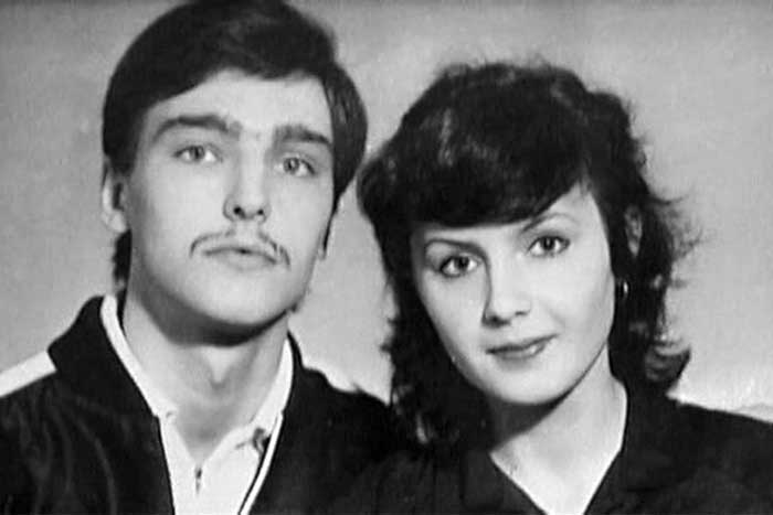 Andrei Derzhavin and his wife