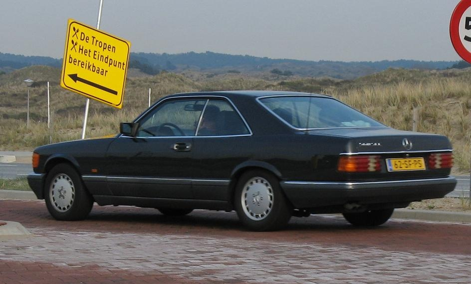 mercedes benz w126 coupe