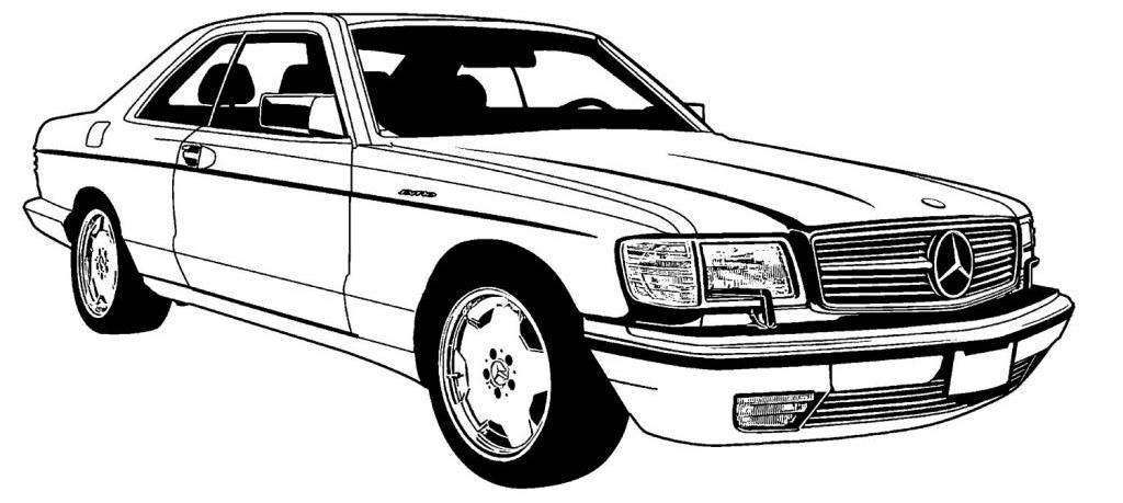 mercedes w126 specifications