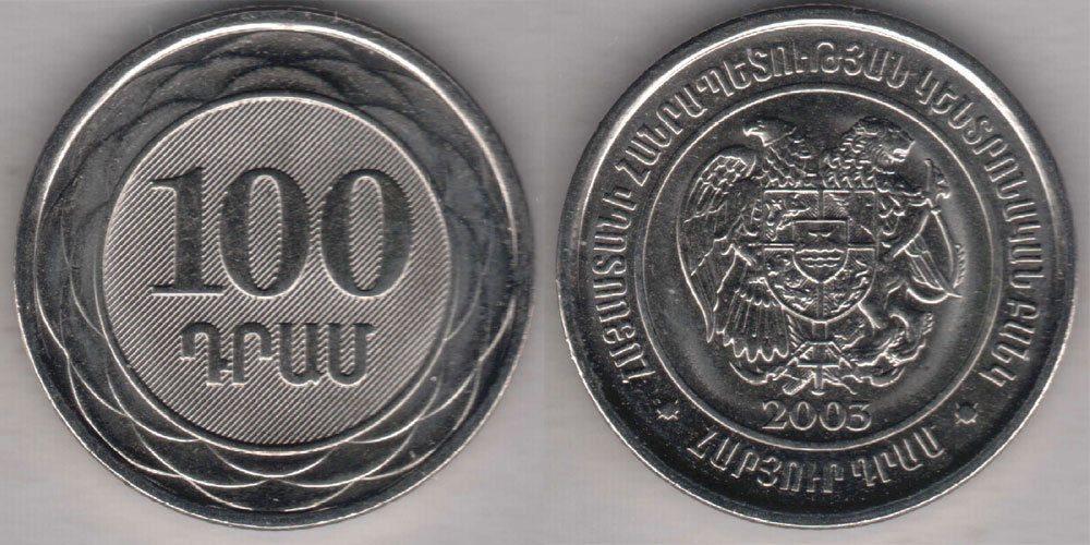 Валюта Армении - армянский драм