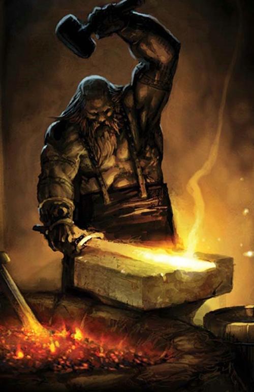 Вулкан, бог огня и кузнечного дела