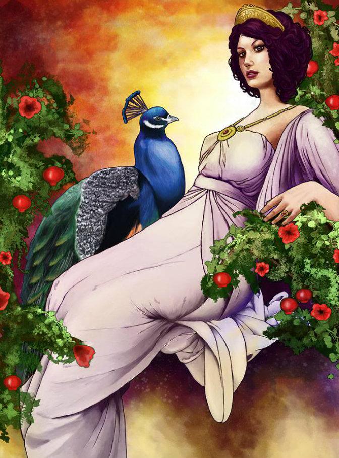 Юнона, богиня семейных уз