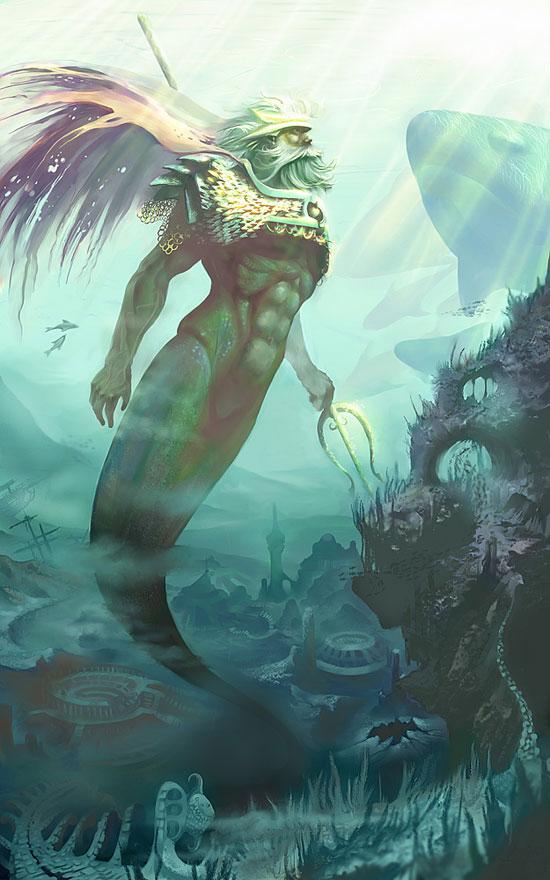 Нептун, бог морей
