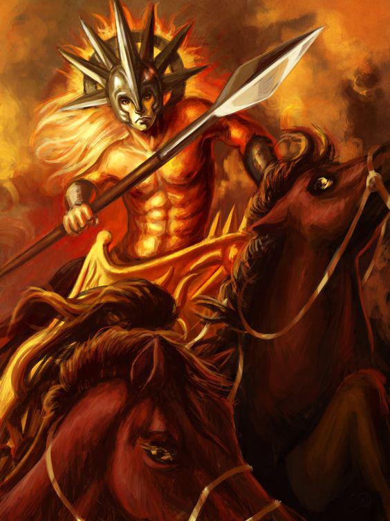 Аполлон, бог солнца и искусств