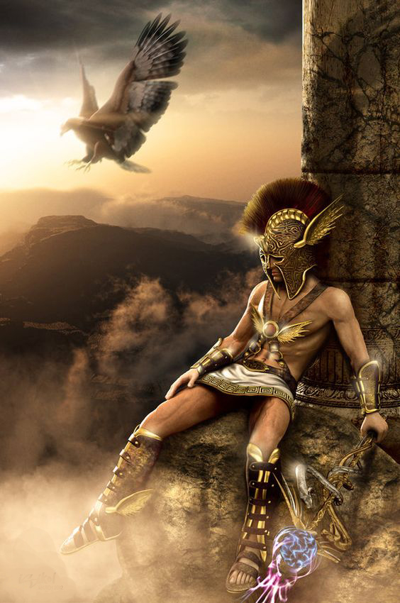 Меркурий, бог торговли и красноречия