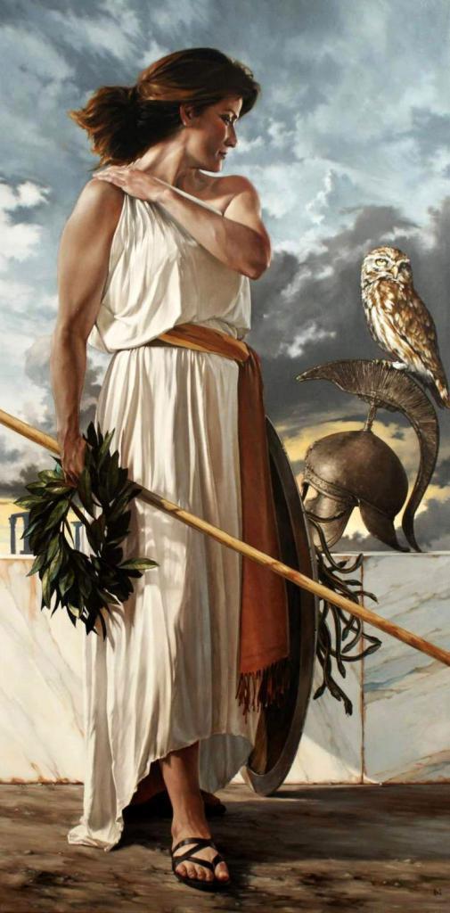 Минерва - богиня мудрости