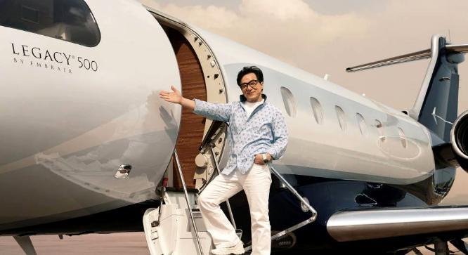 Jackie Chan's plane