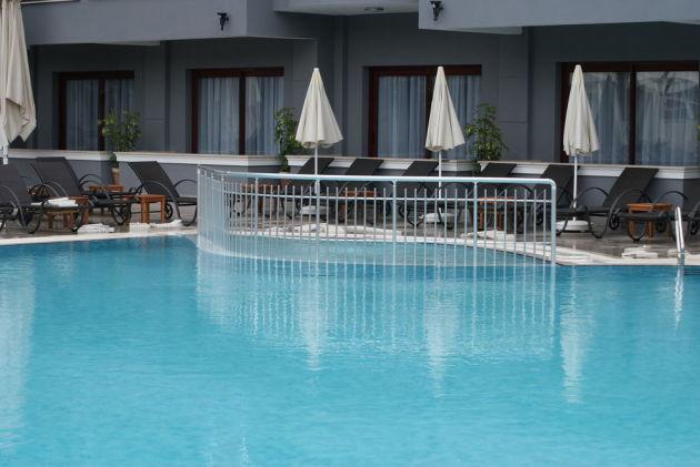 Swimming pool on site