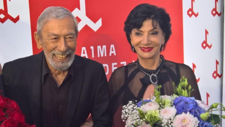 Вахтанг Кикабидзе и Нани Брегвадзе