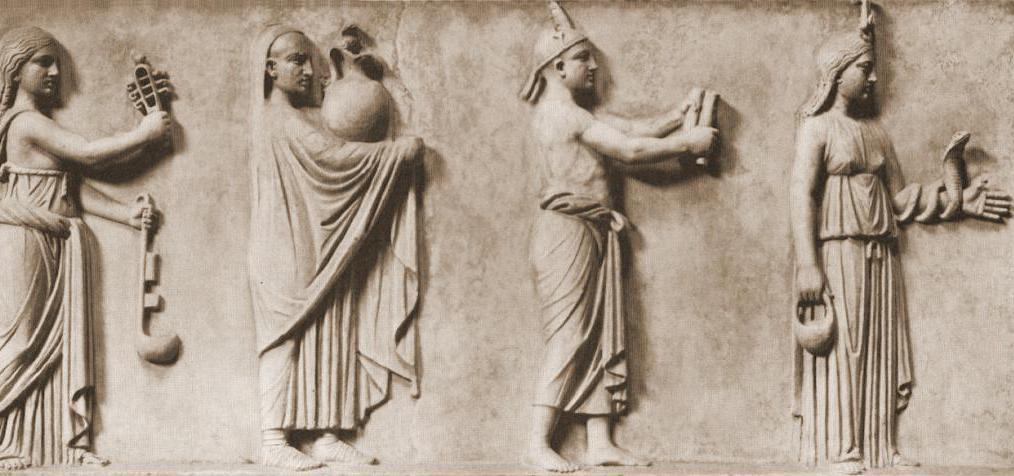 жрецы в древней греции картинки