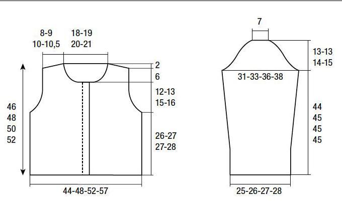 построение выкройки пиджака
