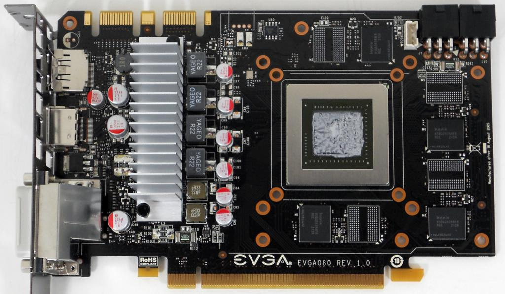 EVGA GeForce GTX 670 без кулера