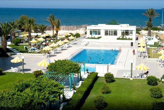 territory of the hotel El Mouradi Cap Mahdia