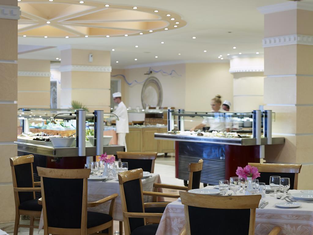 Main restaurant at Mitsis Rodos Village Beach Hotel 4 *